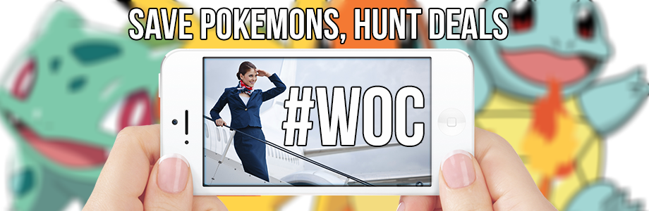 Join #WOC hunt for Flight Attendants' discounts