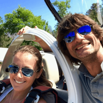Glider Aerobic Ride Orlando Sasha & Vanessa