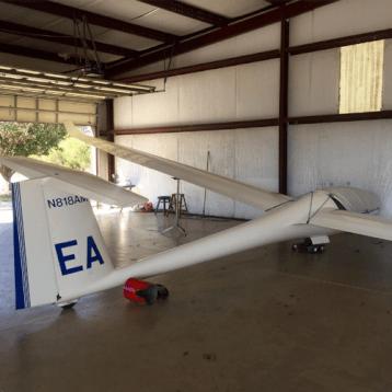 Glider Aerobic Ride Orlando plane