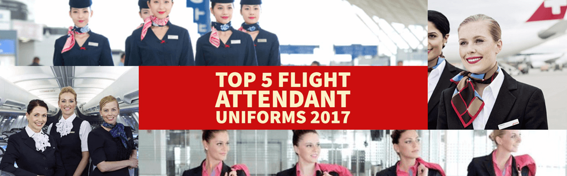 Top 5 Flight Attendant Uniforms 2017 | WOC